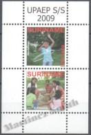 Surinam - Suriname 2009 Yvert BF-111, America UPAEP, Traditional Games - MNH - Surinam