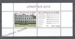 Surinam - Suriname 2010 Yvert BF-113, America UPAEP, National Symbols - Miniature Sheet - MNH - Surinam
