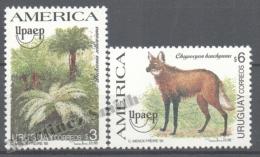 Uruguay 1995 Yvert 1528-29, America UPAEP, Flora & Fauna - MNH - Uruguay