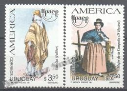 Uruguay 1996 Yvert 1594-95, America UPAEP, Traditional Costumes - MNH - Uruguay
