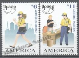 Uruguay 1997 Yvert 1670-71, America UPAEP, The Postman - MNH - Uruguay