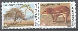 Uruguay 2003 Yvert 2124-25, America UPAEP, Fauna & Flora - MNH - Uruguay