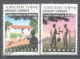 Uruguay 2005 Yvert 2257-58, America UPAEP, Fight Against Poverty - MNH - Uruguay