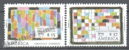 Uruguay 2007 Yvert 2344-45, America UPAEP, Education For All - MNH - Uruguay
