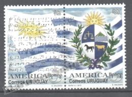 Uruguay 2010 Yvert 2448-49, America UPAEP, National Symbols - MNH - Uruguay