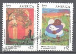 Uruguay 2012 Yvert 2574-75, America UPAEP, Myths & Legends - MNH - Uruguay