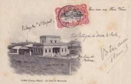 Boma (Congo Belge ) La Gare De Mayumbe Circulée En 1913 - Belgisch-Congo - Varia