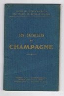 Guide Illustré MICHELIN Des Champs De Batailles = Guerre 14 / 18 - CHAMPAGNE - 1921 (fr64) - Weltkrieg 1914-18