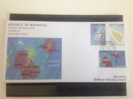 Mauritius / Maurice - Postfris / MNH - FDC Maritieme Zones 2017 - Mauritius (1968-...)