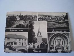 Recht (Sankt Vith) Gruss Aus - Souvenir De // Ua Delhaize // Used 1959 - Sankt Vith