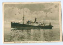 U1249/ HAPAG Dampfer Motorschiff Vogtland AK Ca.1935 - Paquebots