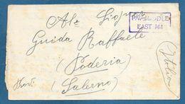 PRISONER OF WAR CAMP 307 1943 TO PODERIA KRIESGEFANGENENPOST - Documenti