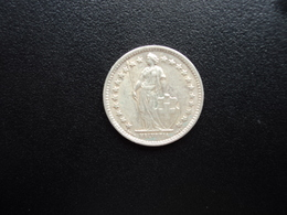SUISSE : 1/2 FRANC  1957 B   KM 23      TTB+ - Suiza
