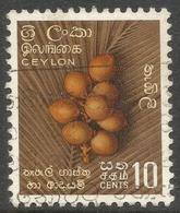 Ceylon. 1958-62 Definitives. Redrawn Inscriptions, 10c Used. SG 453 - Sri Lanka (Ceylon) (1948-...)