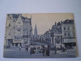 Oostende - Ostende // Statue Leopold 1e - Boulevard Rogier (Boucherie) 19?? - Oostende