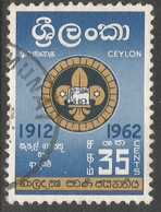 Ceylon. 1962 Golden Jubilee Of Ceylon Boy Scouts Association. 35c Used. SG 472 - Sri Lanka (Ceylon) (1948-...)