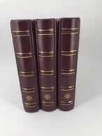 Leuchtturm Drehstabbinder O. Kassette Rot Classic 3 Stück Neuwertig (5852 - Albums & Bindwerk
