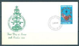 NORFOLK ISLAND - FDC - 24.10.1968 - CHRISTMAS - Yv 100 ASC 101  - Lot 17478 - Ile Norfolk