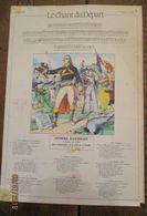 Image D'épinal : LE CHANT DU DEPART - Vieux Papiers
