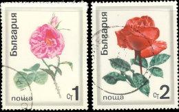 Bulgarie 1970. ~ YT 1778/79 - Roses - Gebraucht