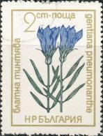 Bulgarie 1972. ~ YT 1974 - Fleur. Gentiane - Gebraucht