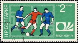 Bulgarie 1974. ~ YT 2078 - Coupe Monde Football, à Munich - Gebraucht