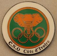JEUX OLYMPIQUES - COMITE OLYMPIQUE DE LA CÔTE D'IVOIRE - ELEPHANT - C.N.O   -     (20) - Jeux Olympiques