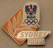 JEUX OLYMPIQUES  - SYDNEY 2000 - AUSTRIAN - OLYMPIC TEAM - AUSTRIA - AUTRICHE  -     (20) - Olympic Games