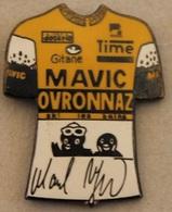 CYCLISME - VELO - CYCLISTE - BICYCLETTE - MAILLOT MAVIC OVRONNAZ - GITANE - TIME - MEUBLES DECARTE -     (20) - Cycling