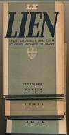 SCOUTISME - Le LIEN - Revue Mensuelle Des Chefs Eclaireurs Unionistes - Janvier 1946 à Décembre 1946 .... 9 Numéros - Scoutisme