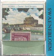 Matchbook.- ROMA. Castel Saint'Angelo. RAVENNA Statua Di Guidarello Guidarelli. Pochette D'Allumettes. Lucifermapje - Scatole Di Fiammiferi
