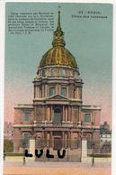 DEPT 75 : Paris 07 : édit. L Boisson N° 97 : Dôme Des Invalides - Paris (07)
