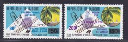 DJIBOUTI AERIENS N°   141 & 142 ** MNH Neufs Sans Charnière, TB (7509) Sports, Jeux Olympiques De Lake  Placid 1980 - Djibouti (1977-...)