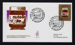 """2014 ITALIA """"NUTELLA"""" FDC VENETIA - 1946-.. République"""