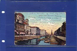 ##(DAN187/1)- Trieste - Canale - Usata 1914 - Trieste