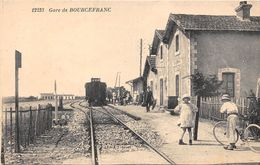17-BOURCEFRANC- GARE DE BOUREFRANC - France