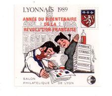 Lyonnais 1989-année Du Bicentenaire De La Révolution Française- Voir état - CNEP
