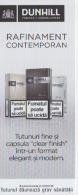 Romania - Cigarettes Ticket - Label - Dunhill Tobacco London - Biglietti D'ingresso