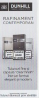 Romania - Cigarettes Ticket - Label - Dunhill Tobacco London - Pubblicitari