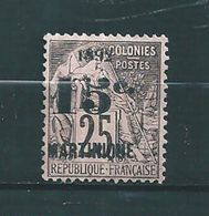 Colonie  Timbre De Martinique De 1892 N°30 NSG  Cote 40€ - Martinique (1886-1947)