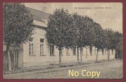 N. Swientziany Švenčionys Lituanie Lithuania Lietuva Städtische Schule Feldpost Krieg 1914 -18 Militär Deutsch Stempel - Lithuania