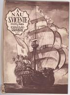 PORTUGAL LISBOA - A SOCIEDADE DA NAU S. VICENTE 1955 - 8 PÁGINAS COM IMAGENS DO INTERIOR - BOATS - Dépliants Turistici