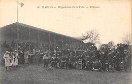 17-MARENS- HIPPODROME DE LA FOLIE - TRIBUNES - France