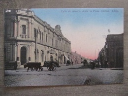 Tarjeta Postal - Chile Chili - Calle De Arauco, Desde La Plaza - Chillan - Prop. Juan Sepulveda Santiago 168 - Chili