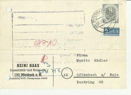 BDR GS 1953 - Cartoline - Usati