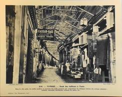"""TUNISIE - N°219 - Souk Des Tailleurs à TUNIS - Collection """" Pour L'Enseignement Vivant"""" - Colonies Française - TBE - Collections"""