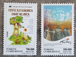 Turquie - YT N°3062, 3063 - EUROPA / Art De L'Affiche - 2003 - Neufs - 1921-... Republic
