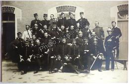 CPA Carte Photo Militaire Cavalier Cavalerie Regiment Dragon 1910 EVREUX ? Eure 27 Normandie ? - Régiments