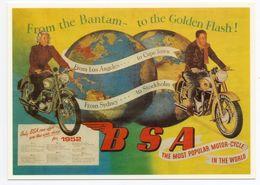 CPM - CENTENAIRE Editions -  MOTOS - 23 - BSA - 1952 - Motorräder