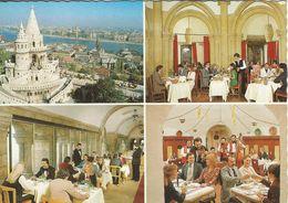 Budapest - Fishermen`s Bastion Restaurant.    Hungary   # 07399 - Hungary